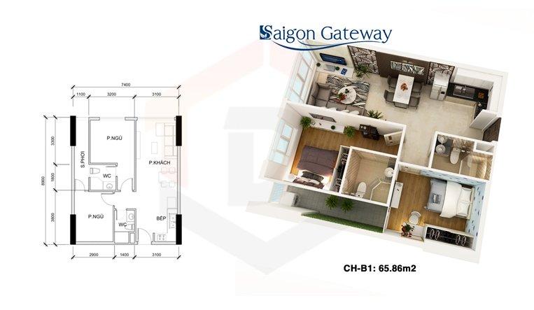 can ho saigon gateway