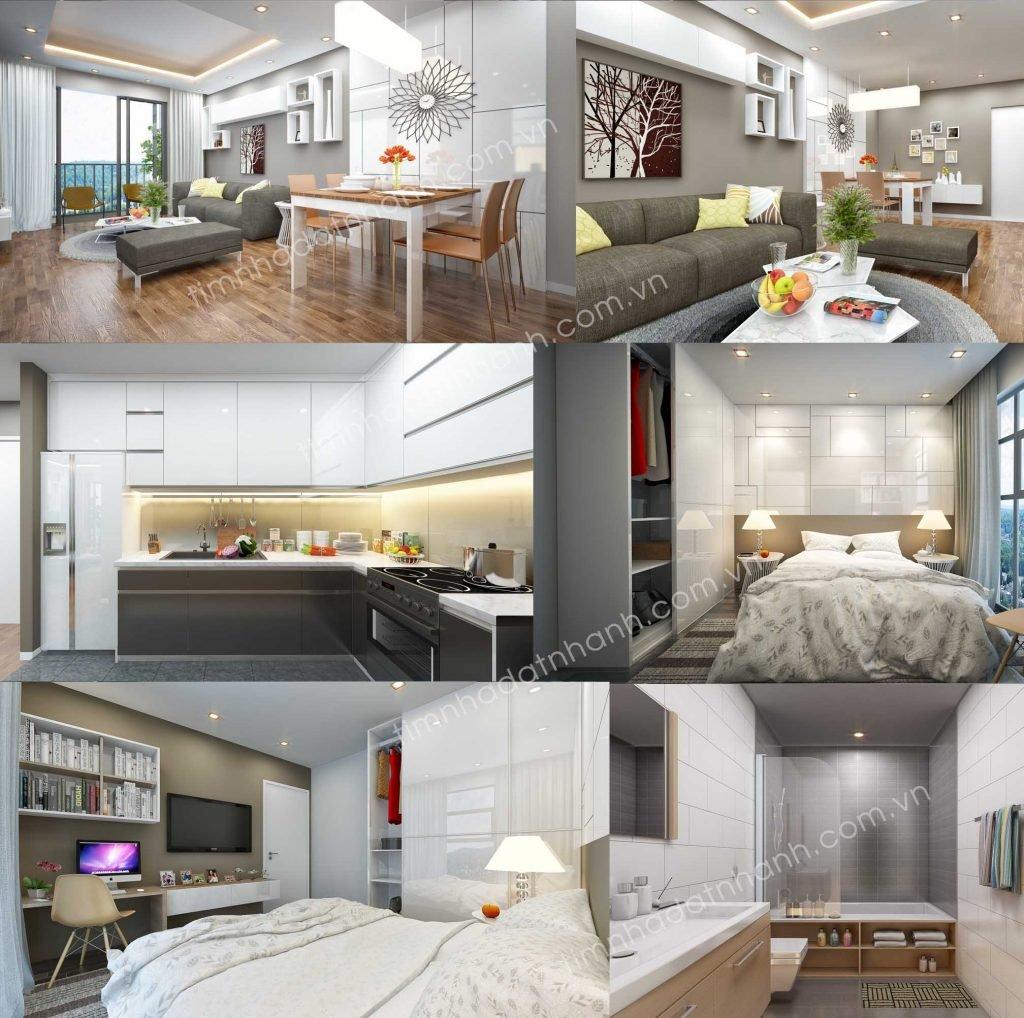 Căn hộ The Goldview 1 phòng ngủ