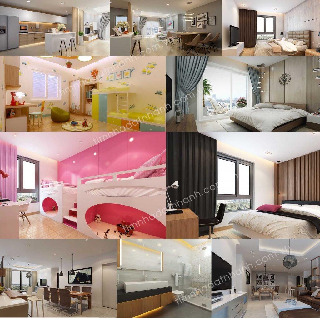 Căn hộ The Goldview 3 phòng ngủ
