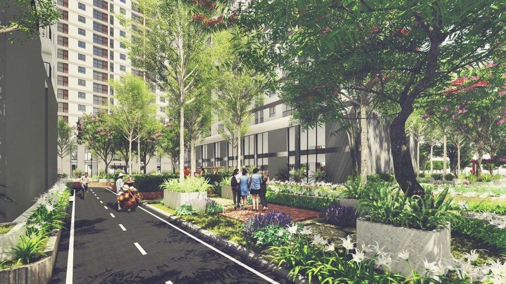 Công viên nội khu Dự án Căn hộ Sunshine Avenue Quận 8