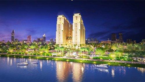 Khách hàng có thể sở hữu căn hộ hai phòng ngủ, hai nhà vệ sinh, tầm nhìn thông thoáng chỉ với giá từ 1,1 tỷ đồng.