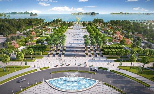 Dự án sShophouse Sun Plaza Grand World kề bên quảng trường Sun Carnival Plaza hiện đại.